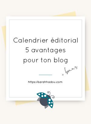 Le calendrier éditorial est un outil qui peut s'avérer extrêmement utile quand on tient un blog. Je t'ai dressé une liste de 5 avantages à en avoir un !